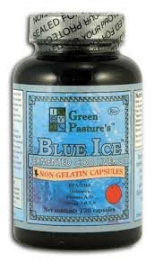 Blue Ice Fermented Cod Liver Oil - ORANGE Flavor - 120 Capsules - 2 Pack (Fermented Cod Liver Oil Butter Oil Benefits)