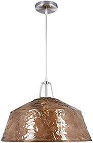 Lámpara Colgante Interior Decorativa E27, Acrilico Café Tecnolite 20CTL1310MVAC