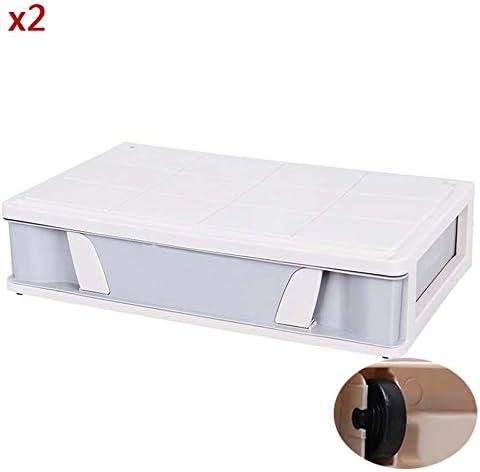 Caja de almacenamiento gris Plástico KEKET1 con asas Caja de ...
