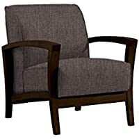 fat june IT 1106 1 Seater Milano Chair, Gray