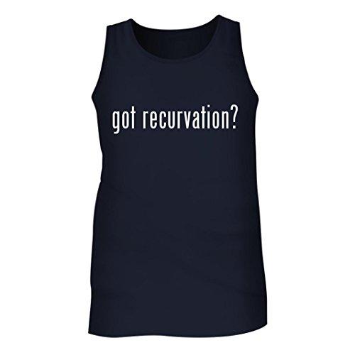 Got recurvation? - Men's Adult Tank Top, Navy, X-Large