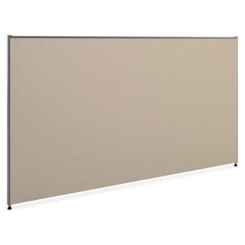 Basyx P4272GYGY Versé Office Panel, 72w x 42h, Gray by BSX