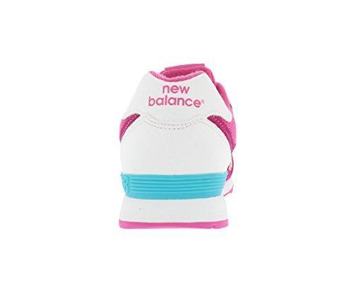 Mixte Balance enfant New Basses Blanc Baskets Rose Kl574czg BqdIxwa