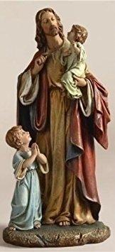 Jesus with Children Renaissance Collection Figure - 10