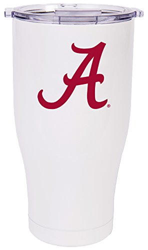 ORCA Chaser Logo University of Alabama Cooler, Pearl/Clear, 27 oz by ORCA