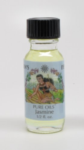 Jasmine - Sun's Eye Pure Oils - 1/2 Ounce Bottle Perfume Oil Suns Eye