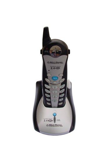 Northwestern Bell Black Telephone - Northwestern Bell 35800-4 5.8 GHz Cordless Phone (Silver/Black)