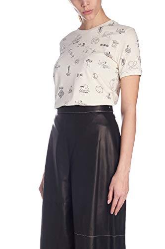 Cotone T Loewe shirt Bianco Donna S6199420cr2230 dSTI7PwqTx
