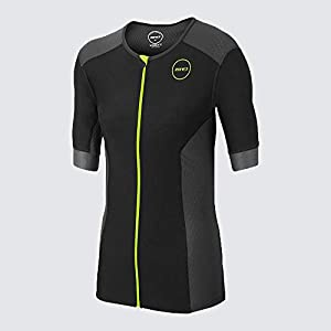 Zone3 Men's Aquaflo Plus Tri Top Short Sleeve