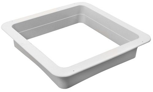Ventline VA0445-27 RV Trailer Camper Roof Vent Trim Ring Birch White (1) by Ventline