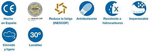 Zuecos Sanitarios Mycrom Sanitario//con Correa Antideslizantes y C/ómodos para Mujer//Cl/ínicas Veterinarios FELIZ CAMINAR Geri/átricos Hospital