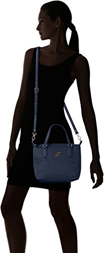 Tommy Hilfiger Poppy Small Tote - Bolsos totes Mujer Azul (Tommy Navy)