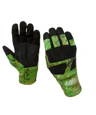 JBL Camouflage 2mm Nylon Coated Spearfishing Gloves with Reinforced Palms (XL)