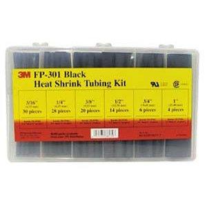 3M Shrink Thin Wall FP 301 1 Black 24