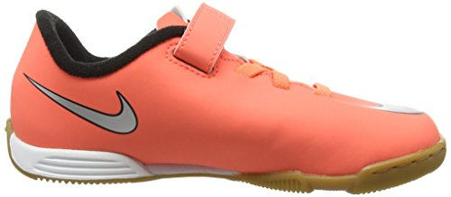 Hyper Enfant Football Mercurial Bright Vortex Mixte Chaussures IC Metallic Turquoise II V Nike Mango Orange de Silver Zxwz0P