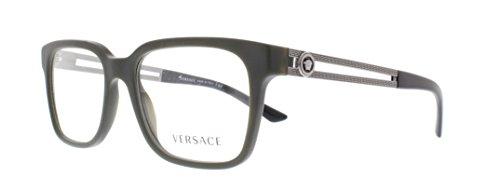 Versace Eyeglasses VE 3218 5164 Sand Green Size - Eyeglasses Versace Luxottica