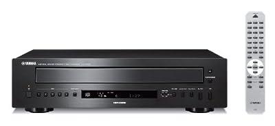 Yamaha CD-C600BL 5-Disc CD Changer (Black) from Yamaha