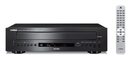 Yamaha CD-C600BL 5-Disc CD Changer Black (Best Cd Player For Home)
