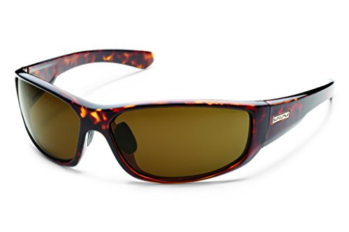 Suncloud Pursuit Sunglass (Brown Polar Lens, Tort)
