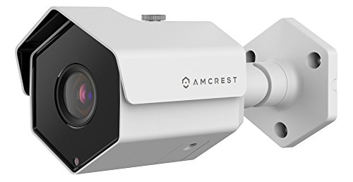 Amcrest ProHD Outdoor 1080P PoE IP Security Bullet Camera – IP67 Weatherproof, 1080P 1920TVL , IP2M-852EW White
