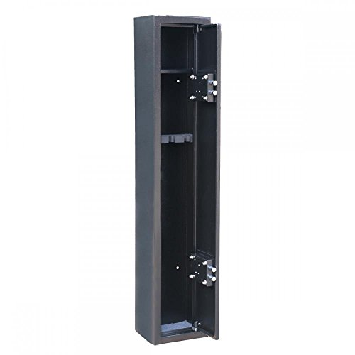 2-Key-3-Gun-Rifle-Storage-Cabinet-Case-Safe-Rack-Security-51-USA-Seller