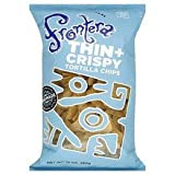 Frontera Foods Thin and Crispy Tortilla Chips, 10 Ounce - 12 per case.