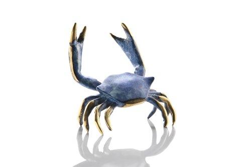 SPI Home Brass Chesapeake Bay Maryland Crab Figurine