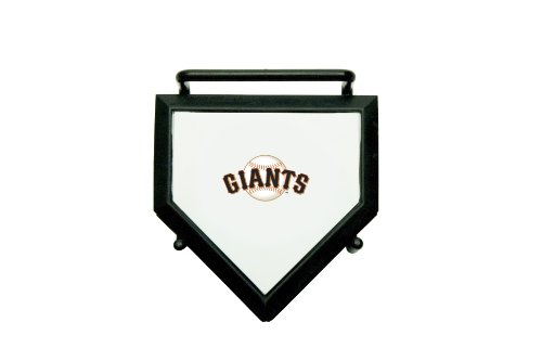 MLB San Francisco Giants Home Plate 4-pack Coaster Set (Coaster San Francisco Giants)