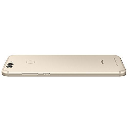 HUAWEI Nova 2 Plus BAC-AL00 5.5 inch Kirin 659 Dual 12 MP + 8 MP (4GB+128GB) Smartphone (Streamer Gold)