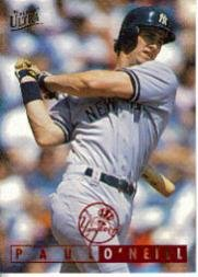 1995 Ultra Baseball Card #84 Paul O'Neill