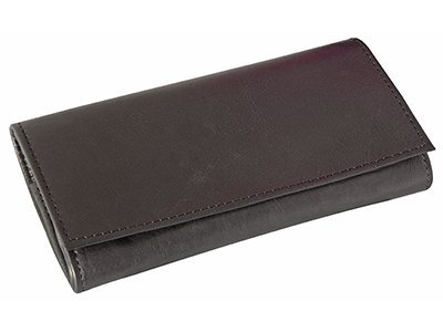 4th Generation Leather Pipe Tobacco Pouch ~ Choose Your Style (Kenko (Tobacco Pouch Black Leather)