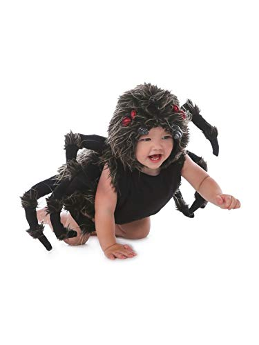 Princess Paradise Baby Boy's Talan The Trantula Costume, Black, 6/12M -