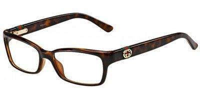 Gucci+GG3647+Eyeglasses-0DWJ+Havana-51mm