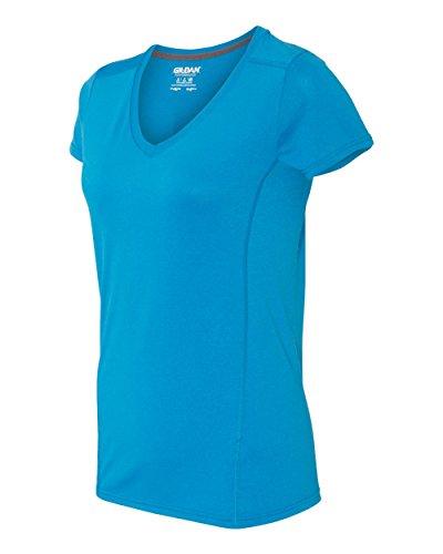 GILDAN - Camiseta - para mujer MARBLED SAPPHIRE