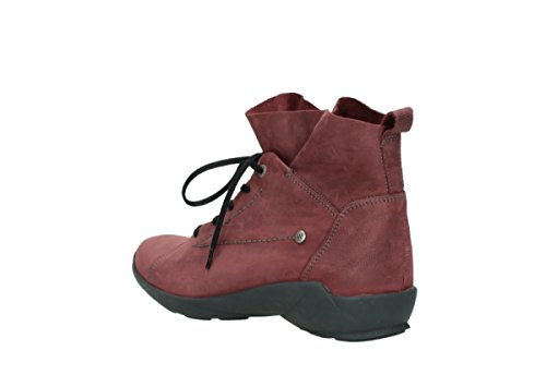 Burgundy Nubuck 10510 nbsp;Bello Lace Up comodidad Wolky Zapatos 01574 WCvC0x7