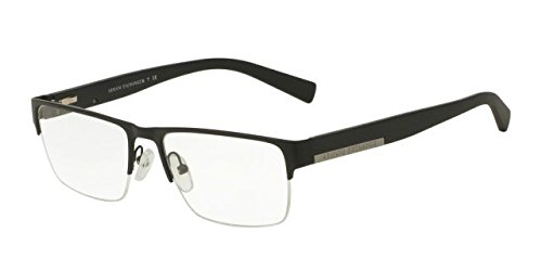 Armani Exchange AX1018 Eyeglass Frames 6063-54 - Matte Black - Glasses Armani Exchange Frames