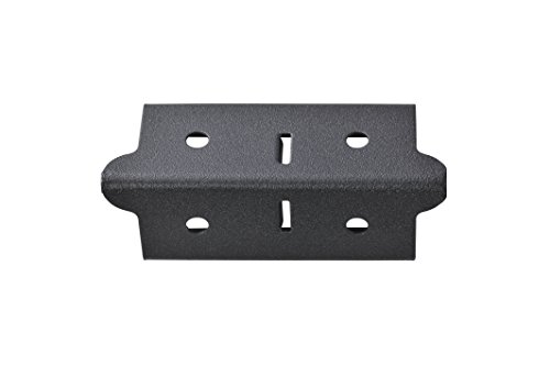Edsal CPOUT-BLK-4 Muscle Rack Post Coupling Outer Black (4 Pack), 3'' Height, 1.5'' Width, 1.5'' Length (Pack of 4) by EDSAL