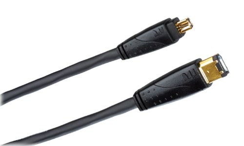 Monster Cable J2 CAMAV DV-6 IEEE 1394 Firewire Camcorder to PC Cable (6 Feet)