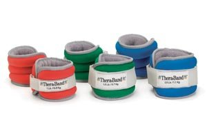 Comfort Fit Ankle & Wrist Weight Set, Retail Packaged, Green by Hygenic/Theraband (Image #1)