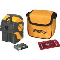 Johnson Level & Tool 40-6670 Self-Leveling 2-Dot Laser Level