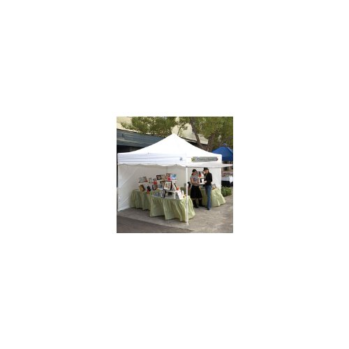 UPC 098556999121, 10' x 10' Commercial E-Z UP Instant shelter with 4 zippered sides