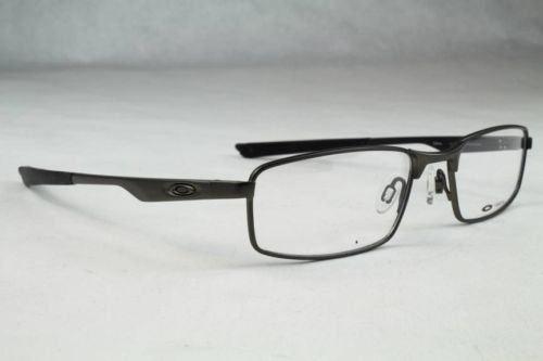 3ee695e581 Image Unavailable. Image not available for. Colour  Oakley Socket 4.0  12-014 Pewter Matte Black Mens Rx Eyeglasses