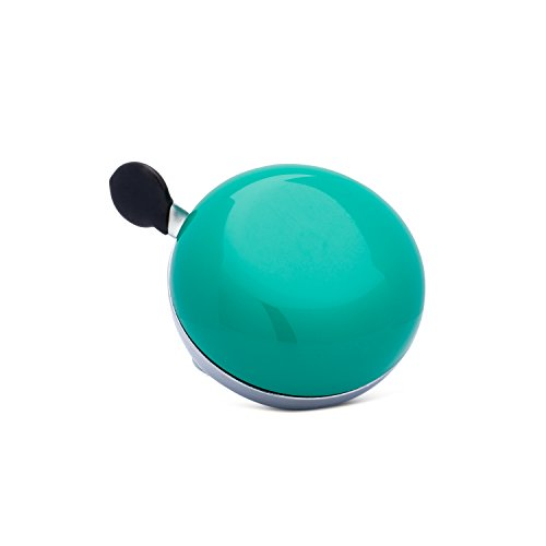 Classic Ding Dong Bicycle Bell by Kickstand Cycle Works - Emerald