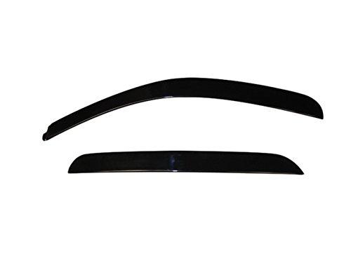 Auto Ventshade 894007 Low Profile Dark Smoke Ventvisor Side Window Deflector, 4-Piece Set for 2007-2013 Silverado & Sierra 1500, 2007-2014 Silverado & Sierra 2500HD-3500HD with Crew Cab, 2007-2014 Yuk