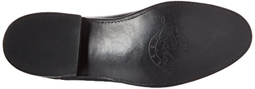 Lucchese Bootmaker Men's Lawrence-blk Lonestar Calf Roper Riding Boot, Black, 9 D US