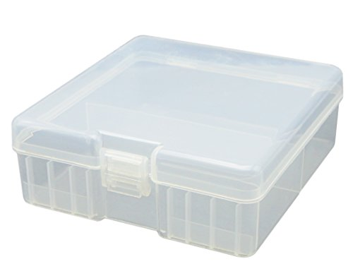 Whizzotech AAA Battery Storage Case Battery Organizer Holder Box Holds for 100 AAA Batteries BL17