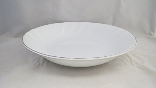 Mikasa Wedding Band Platinum Coupe Soup Bowl