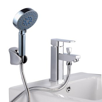 A LHbox Basin Mixer Tap Bathroom Sink Faucet The copper cold water pull basin faucet water tap,