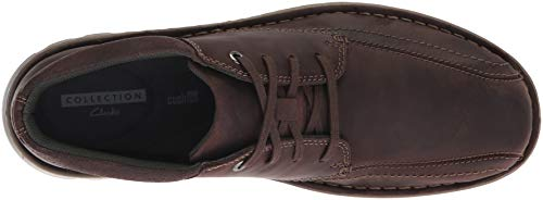 Mid Boot CLARKS Ankle Men's Leather Brown Vanek Dark waqxHx