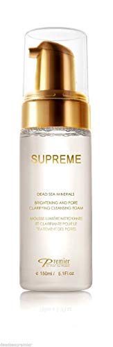 Premier Dead Sea Supreme Brightening & Pore Clarifying Cleansing Foam